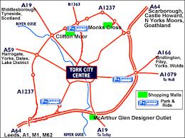 road map of york york homemadephotos bloguez com
