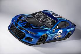 chevrolet reveals the 2018 camaro zl1 nascar cup race car the