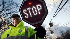 stop sign with led lights safety ledinsider discussion on energy efficient lighting and