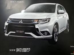 outlander mitsubishi 2015 interior 2016 mitsubishi outlander facelift brochure leaked india launch