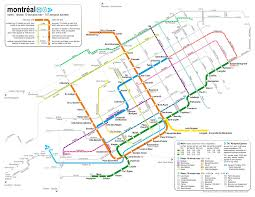 Metro Route Map by Catbus Map