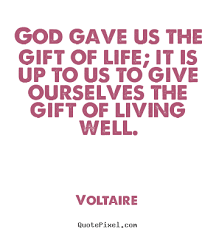 make personalized picture quotes about god gave us the gift