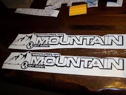 jeep sticker ideas jeep wrangler mountain off road hood decal set