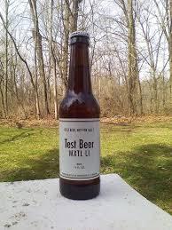 busch light aluminum bottles anheuser busch budweiser 12oz test beer bottle mxtl li white label w