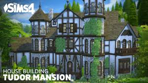 Tudor Style House Plans Sims House Building Tudor Mansion Youtube Home Plans