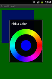 android color picker color picker dialog android exle software and source code for