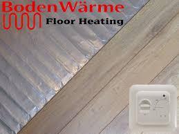 bathroom underfloor heating thermostat underfloor heating mat for laminate or engineered wood flooring