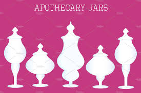 Apothecary Jars For Candy Buffet by Apothecary Jars Illustrations Creative Market