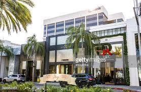 Commercial Christmas Decorations Usa by Christmas Decorations On Rodeo Drive Ca Usa Stock Photo Getty Images