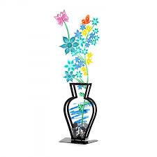 3d Flower Vase Metal Flower Vase Wildflower 3d Vase Multicolour Housewarming Gift