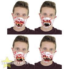 bloody doctor halloween costume halloween latex doctor surgeon dentist bloody smog mask teeth