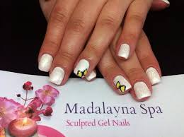 74 best nails by madalayna spa images on pinterest spa nail gel