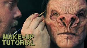 vampire demon prosthetic make up u0026 painting guide youtube