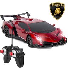 lamborghini veneno amazon com best choice products 1 24 officially licensed rc