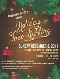 nutley s tree and menorah lighting at the oval sunday starting at