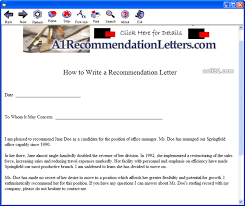 download letter of recommendation sample 1 0