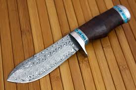 handmade knives for sale handmade bowie knife in a new look with eye catching artistic beauty