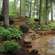 side yard landscaping ideas steep hillside stairs make steep