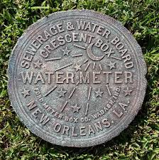 new orleans water meter cover new orleans water meter cover verdigris antique copper