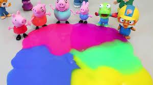 how to make mud slime clay u0026 peppa pig muddy puddles toys youtube