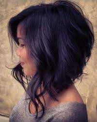 layered buzzed bob hair 21 super cute asymmetrical bob hairstyles popular haircuts