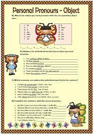 pronouns elementary worksheet
