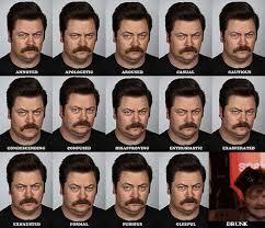 Swanson Meme - ron swanson expressions expression meme know your meme