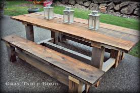 Cedar Patio Furniture Sets - past projects gray table home