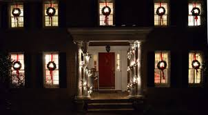 Decorating Windows With Wreaths For Christmas by Pottery Barn Christmas Garland Make Your Own For Less