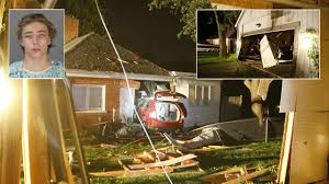 teen was drunk when he crashed suv into 2 houses waterford