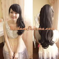 jual hair clip jual hair clip murah bahan fiber semi human madamsharma