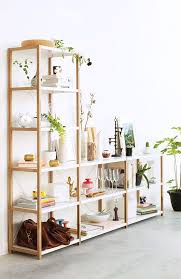 White Open Bookcase Best 25 White Wood Bookcase Ideas On Pinterest Fireplace Built