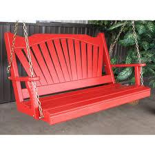 outstanding handmade porch swing designs