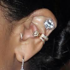 cuff piercing jewels piercing ear piercings ear cuff wheretoget