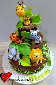 any 1 fondant jungle animal cake topper lion elephant zebra