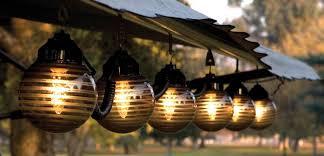 decorative outside lights