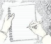hand holding pencil clip art download 1 000 clip arts page 1