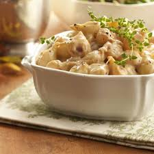 Main Dish With Sauce - creamed caramelized pearl onions recipe