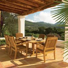 Outdoor Dining Bench by Exterior Outdoor Dining Table Accessories The Fresh Scenery Of