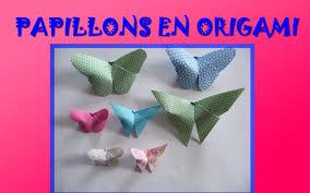 Pliage Serviette En Papier Papillon by Tuto Papillons En Origami Youtube