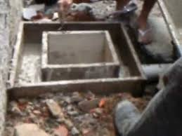 Conhecido Como fazer caixa de esgoto de concreto - YouTube &SA22