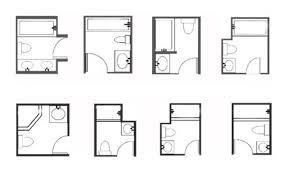 bathroom design layout small bathroom design plans 6 option dimension small bathroom