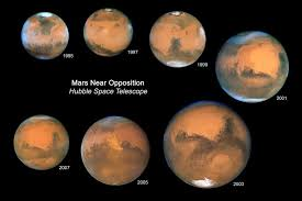 How far is mars from earth universe today