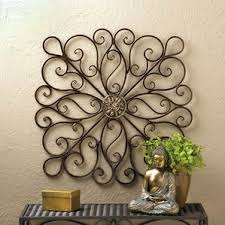 Breathtaking Large Wrought Iron Wall Decor Bronze Wall Accents You U0027ll Love Wayfair