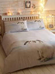 Cosy Cotton Bunny Bedding Set Bedding Sets Home Lighting - White bedroom furniture bhs