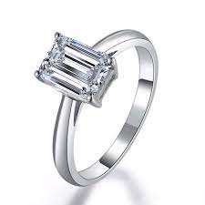 emerald cut diamond engagement rings online get cheap emerald cut diamond engagement ring aliexpress