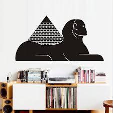 egyptian pyramid sphinx wall sticker new design vinyl self