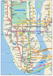 New York Tourist Attractions Map by Download Subway Map New York City Major Tourist Attractions Maps