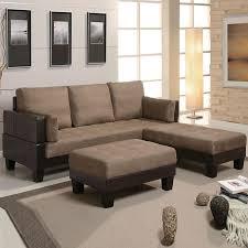 Sofa Bed Canada Fulton Tan Microfiber Convertible Sofa Bed Couch Sleeper 2 Ottoman