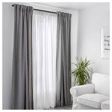 Light Grey Sheer Curtains Matilda Sheer Curtains 1 Pair Ikea
